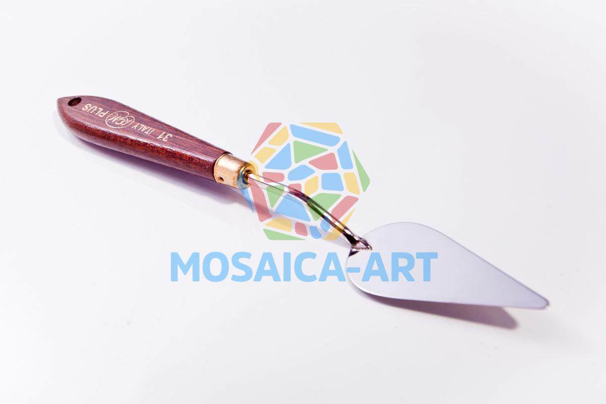 Мастихин с деревянной ручкой, арт. 31