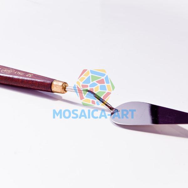 Мастихин с деревянной ручкой, арт. 32