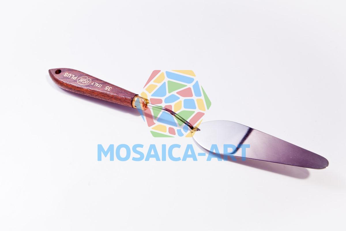 Мастихин с деревянной ручкой, арт. 35