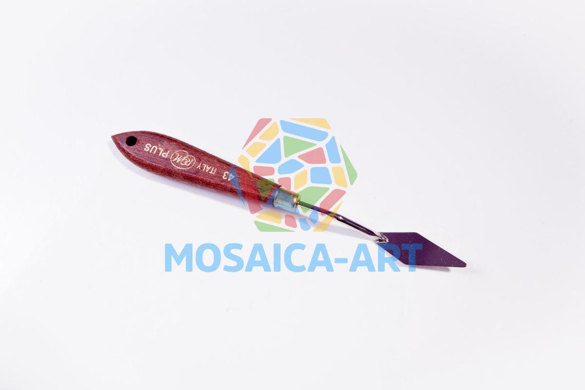Мастихин с деревянной ручкой, арт. 43