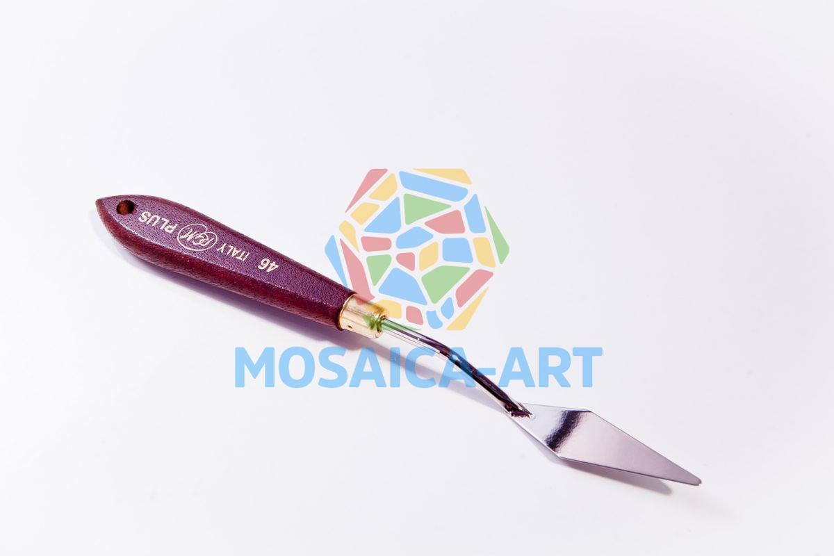 Мастихин с деревянной ручкой, арт. 46
