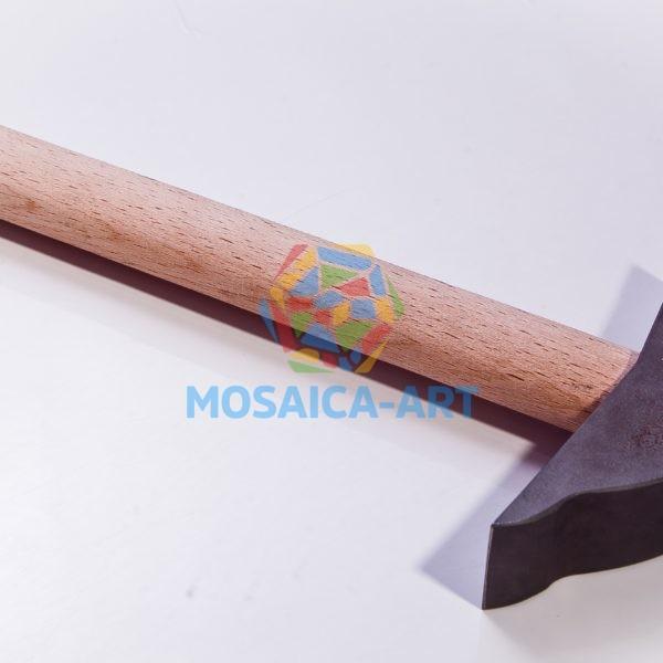 Стальной фигурный молоток для колки смальты и камня