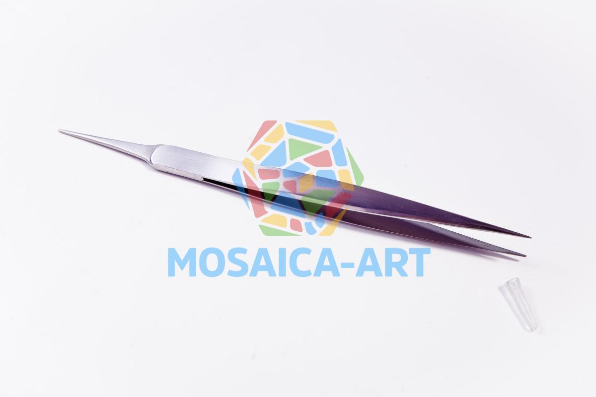 Пинцет для мозаики с прямыми острыми концами